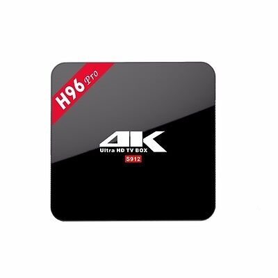 Android TV Box H96 Pro Plus 4K Ultra HD 32G