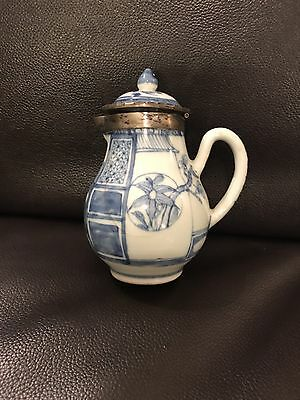 Chinese Porcelain Teapot 5in High 17century