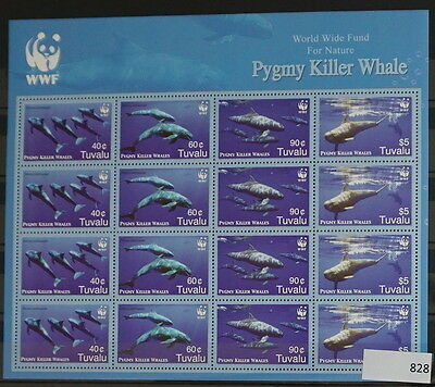 S0 0828 Whales, Dolphins Tuvalu MNH 2006 Pygmy Whale Killer