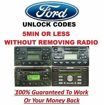 Ford Radio Unlock Code 3000 4000 4500 5000 6000 RDS EON  - M Serial
