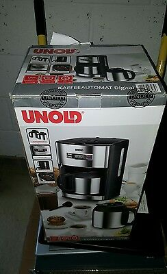 Unold Coffee Maker 1.5 Litre  Stainless Steel/Black