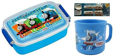 4 Thomas the Tank Engine Products – Lunch Box, Cup, Spoon and Fork