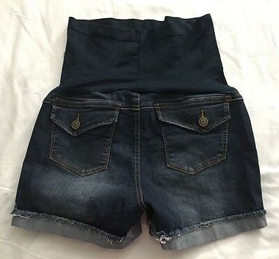Women's Haute Mama Maternity Jeans  Short Shorts Stretch Size M