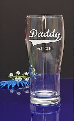 Happy Fathers Day personalized glass gift, present DAD/GRANDAD/ 265