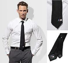 BMW M Men's Carbon Tie Genuine BMW Lifestyle Range 80162179762