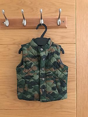 Baby Gap Quilted Gilet Jacket 6-12 Months Boy/girl RRP£28.00