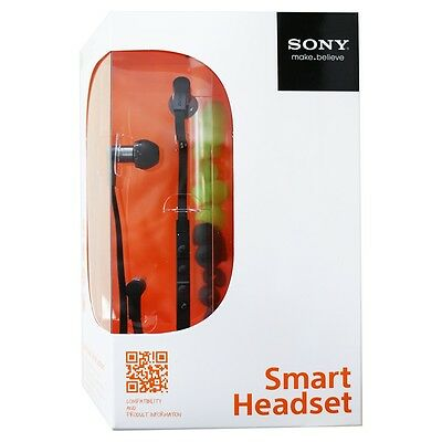 Sony Stereo Smart Headset MH1C, schwarz