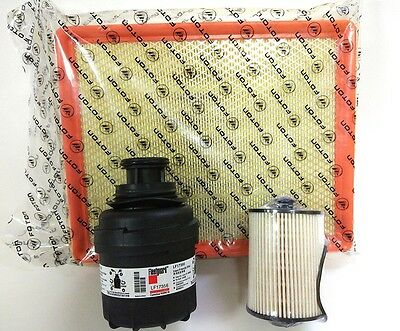 Foton Tunland Diesel Oil Air Fuel Filter Service Kit Cummins ISF2.8 2012-ON