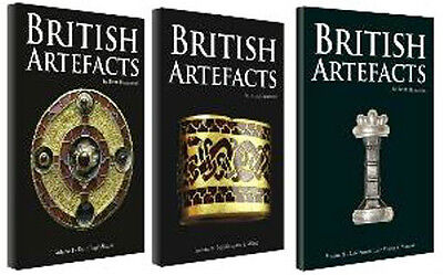 Books British Artifacts All1/2/ 3 Volumes  Late Saxon Late Viking. All That Gold