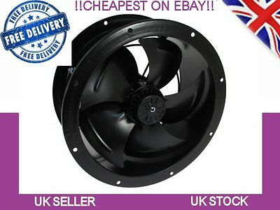 Industrial Duct Fan Cased Axial Commercial Canopy Extractor  Ventilation 630mm