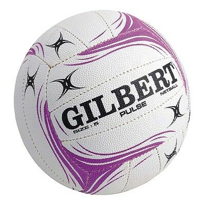 Gilbert White Pulse Size 4 and 5 Netball. Made for casual use