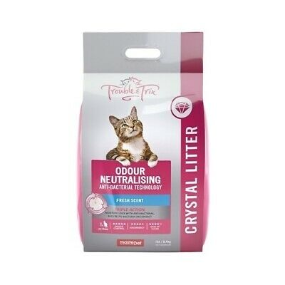 Trouble & Trix AntiBacterial Odour-Neutralising FreshScent Crystal Cat Litter 1