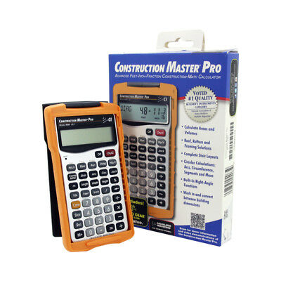 Calculated Industries Feet-Inch-Fraction Construction-Math Master Pro