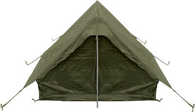 New Military Pup Tent Genuine Military Surplus Army Camping Hiking Outdoor Oliv