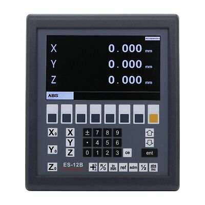 Digital Readout LCD Display Console Easson ES-12 3 Axis Mill and Lathe Function