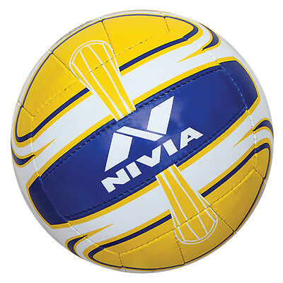Nivia Handstich Super-Synthetic Volleyball-Wettbewerb Ball, 18 Panels