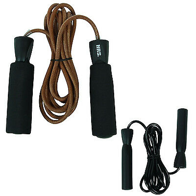HRS Fitness Skipping Rope PVC Kunststoff Griff springen Cardio-Training