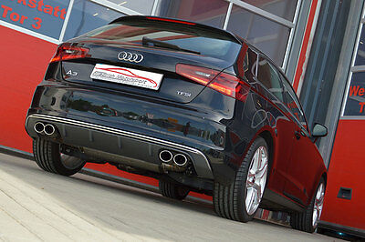 Nil 2.99in Duplex Performance Exhaust with Flap Control Audi S3 8V 3-türer