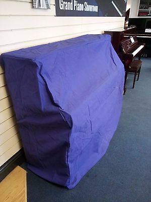 Upright Piano Cover in Blue