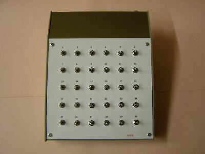 Model Railway Point Controller---30 Way