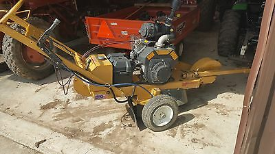 wood chipper stump grinder