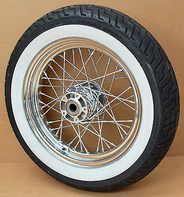 Harley Original Speichen Rad Chrom 16X3 Wheel Road King Classic Flhrc Touring