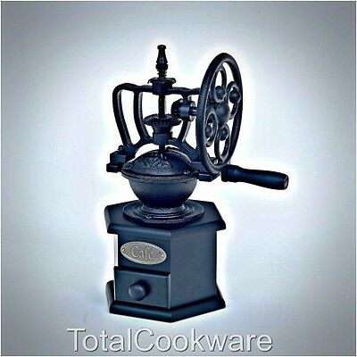Victor Cast Iron Large Coffee Grinder Black VCW450
