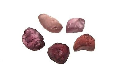 Rough Garnet Pink Rose Color Change Natural Gemstone Lot 26 Carats # 1199