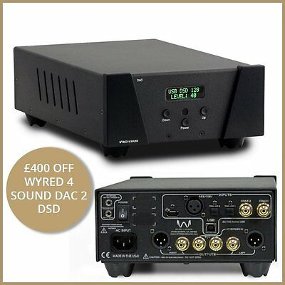Wyred 4 Sound DAC-2 DSD - Black - !!Special Offer!!