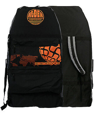 Alder System 3  Bodyboard Bag in Black