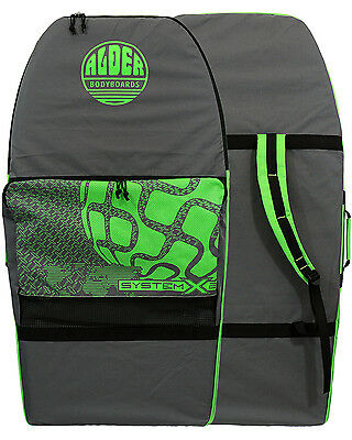 Alder System 2  Bodyboard Bag in Grey