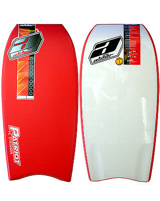 "Alder Patriot 46""  Bodyboard in Red"