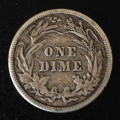 1911 US USA Barber Dime America Coin