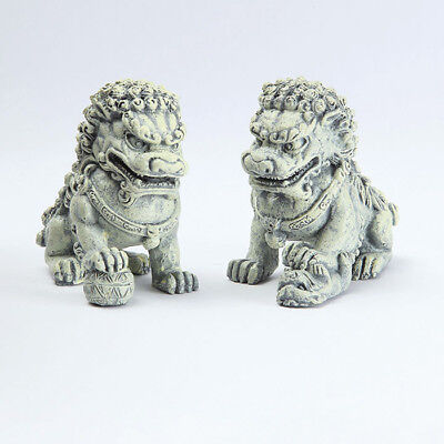 My Fairy Gardens Mini - Foo Dog Stakes - Set of 2 - Supplies Accessories