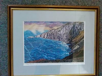 CRAIG GOGARTH Print By Anthony Cain '89 SIGNED