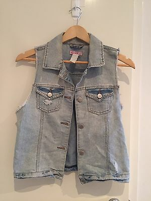 Vintage Looking Denim Vest
