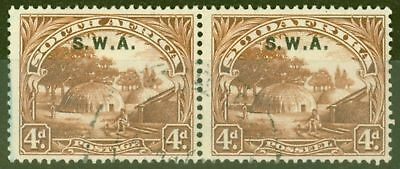 S.W.A 1928 4d Brown SG62 Fine Used
