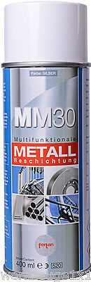 Fertan MM30 Multifunctional Metal Coating Zinc spray Rust protector up to 300 C°
