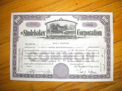 The Studebaker Corporation  1945  Free Shipping