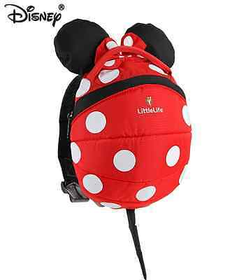 Littlelife Toddler Minnie Daysack W Reins RRP £26.99
