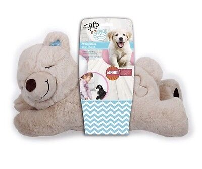 ALL FOR PAWS PUPPY DOG LITTLE BUDDY WARM SOFT BEAR ANXIETY COMFORTER 33cm LONG