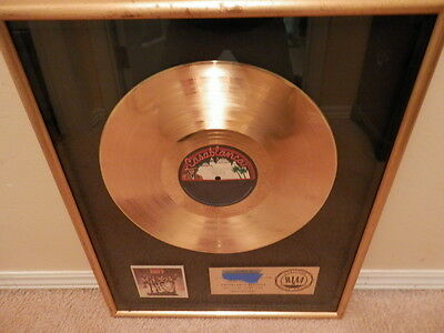 """KISS RIAA GOLD RECORD AWARD """"DESTROYER"""" NR MINT..Nicest one you will EVER See!!!"""