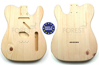 TELECASTER 50s Body Electric guitar Knotty pine vintage style, unique piece