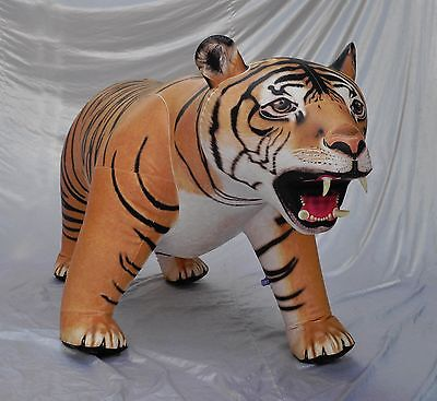 Tiger Life size inflatable 8 feet long  Jungle Book Jungle Novelty free shipping