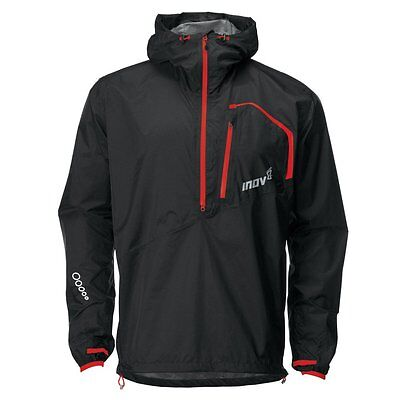 Inov8 Race Elite 150 Stormshell Jacket- Black/Red- Large