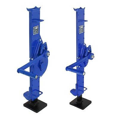 Selectable mechanical jack 1500-3000kg lifting tool steel winch rack wind pulley