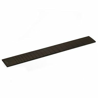 StewMac Slotted Fingerboard for Martin Guitar, Ebony