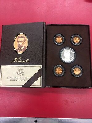 2009 P US Mint Lincoln Coin And Chronicles Proof Set