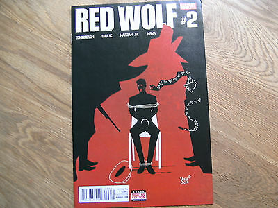 MARVEL Red Wolf graphic comic issue #2 March 2016 NEW EdmondsonTalajic Marzan Jr