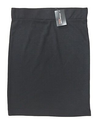 Girls Pencil Skirt Stretch Jersey School Black Tammy Girl 8-16Y Rrp £11 Bnwt